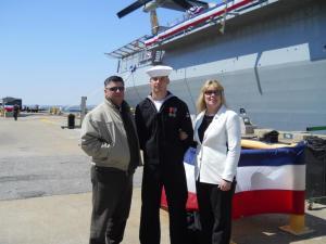 Terri and Navy