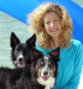 Maisie, Mick, and Lisa--Click to visit our Youtube Channel, Mick's Tricks!